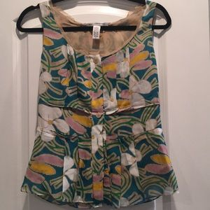 DVF (4) button-up blouse